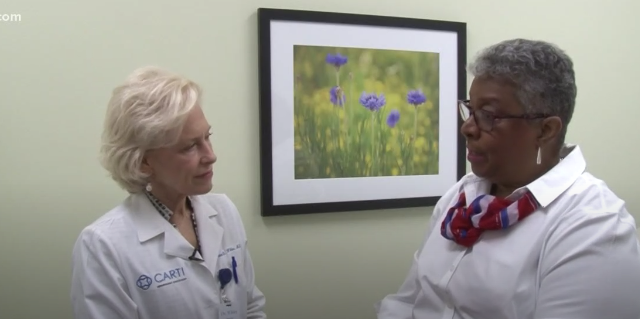 Mary Parham's Story   Breast cancer survivor stresses importance of routine mammogram