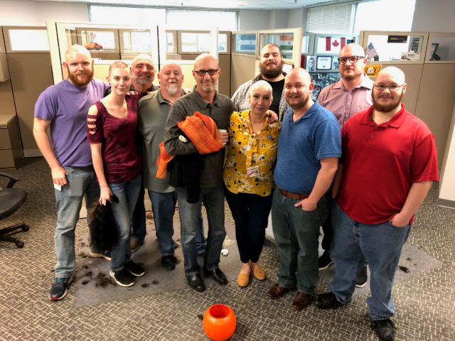 Norma Lopez's Story | Coworkers shave heads to support patient during her breast cancer diagnosis